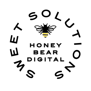 Honey Bear Digital Logo